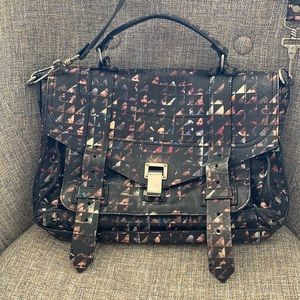 Proenza Schouler PS1 leather messenger bag